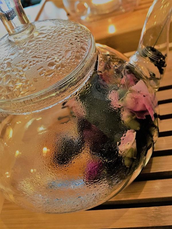 Tang Xuan salon de thé - pu erh à la rose