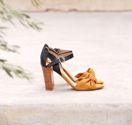 sandales sezane high romeo