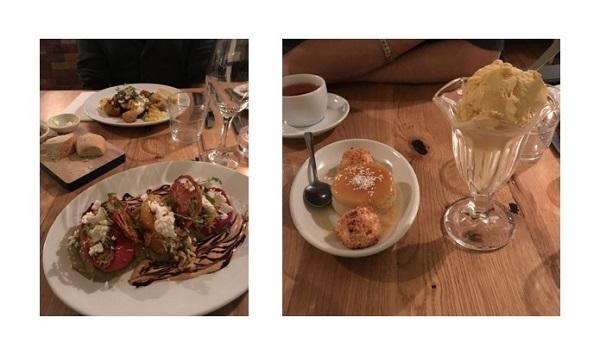 edimbourg restaurant food educated flea