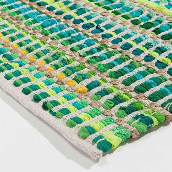 green vert maisons du monde tapis