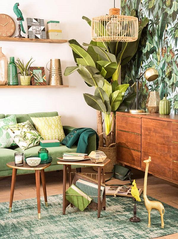 green vert greenery maisons du monde caliente