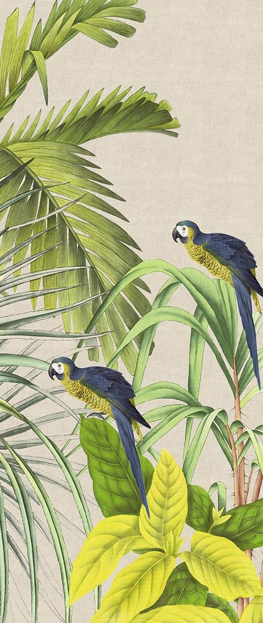 green vert papier peint Koh Chang Lin naturel Ananbo