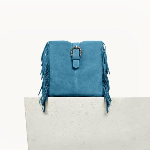 shopping mode sac maje bleu