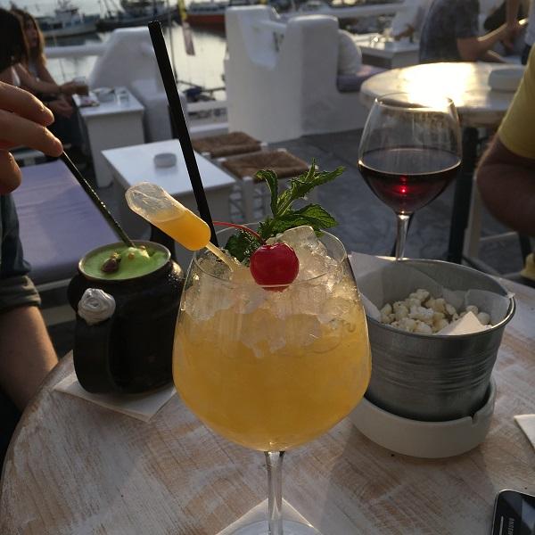 naxos cyclades restaurant bar