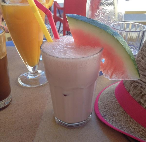 naxos cyclades restaurant bar smoothie