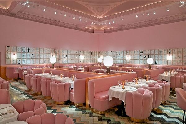 rose pink london india mahdavi