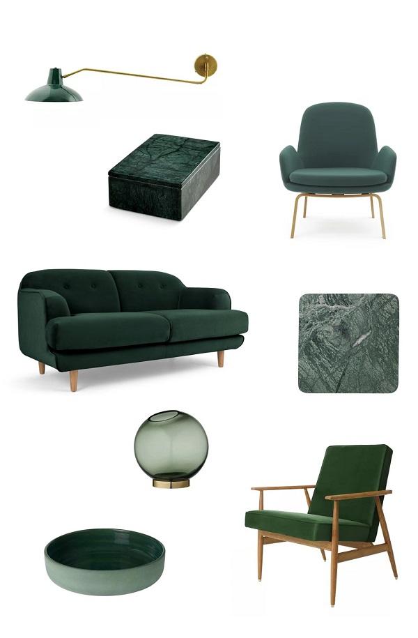 vert sapin shopping deco design tendances automne