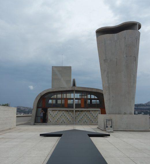 cite radieuse corbusier toit terrasse