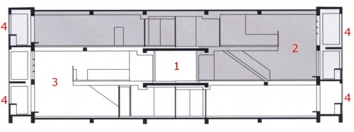 plan appartement cellule duplex