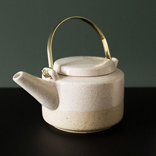 teapot theiere gres bloomingville