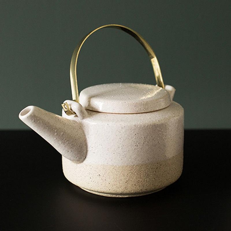 teapot theiere gres bloomingville