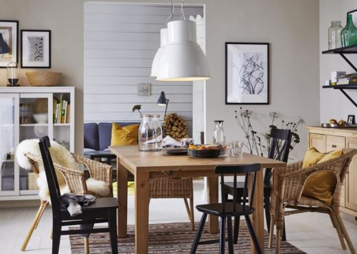 salle a manger dining room ikea hygge cosy