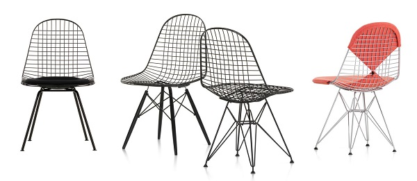 wire chair charles ray eames tendance filaire