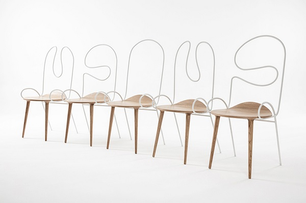 tendance filaire chaises chairs dehaus