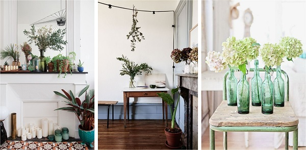 deco kinfolk plantes green