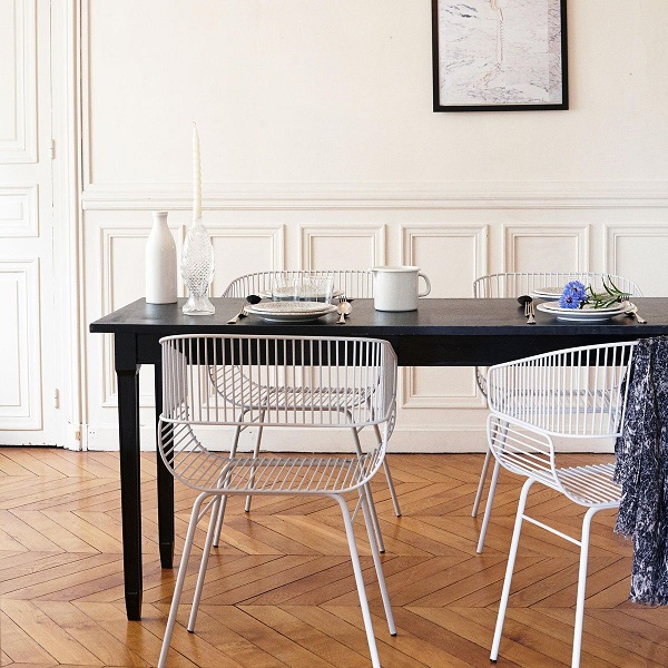tendance filaire chaise petite friture