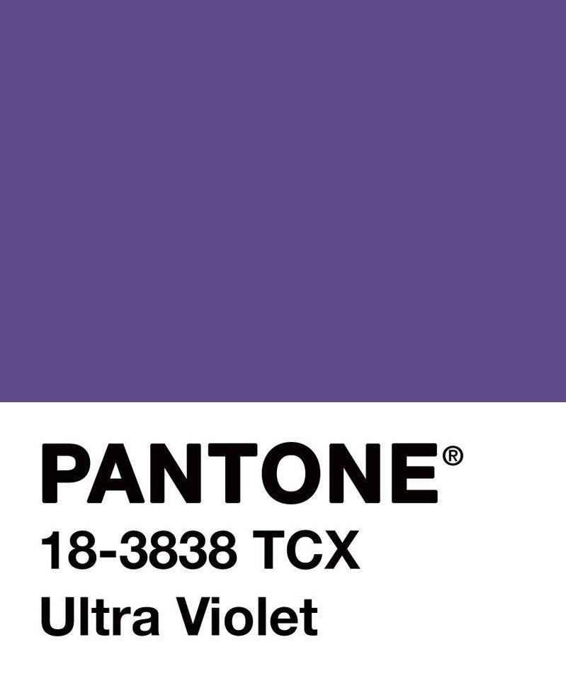 pantone couleur ultra violet tendance