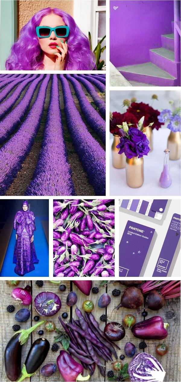 pantone couleur ultra violet