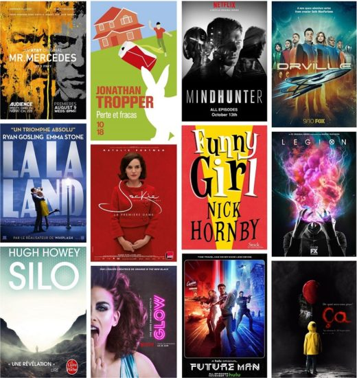 films series legion la la land glow mindhunter silo mr mercedes