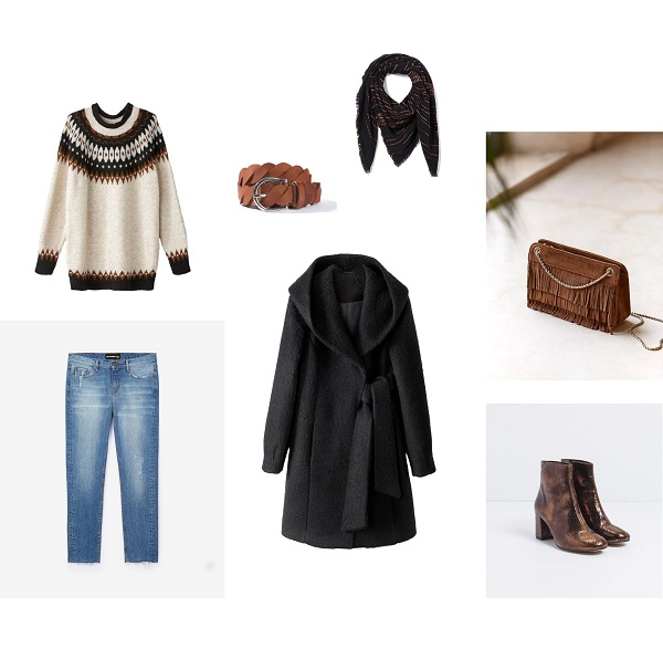 look femme hiver