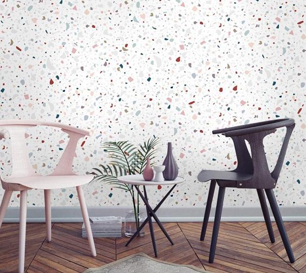 papier peint terrazzo papermint tendance deco